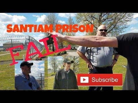 You could be Planning an Escape [ 1st Amendment Audit FAIL] Santiam Prison S.C.I
