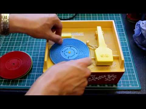 Classic Fisher Price Record Player Repaired At The FixItWorkshop