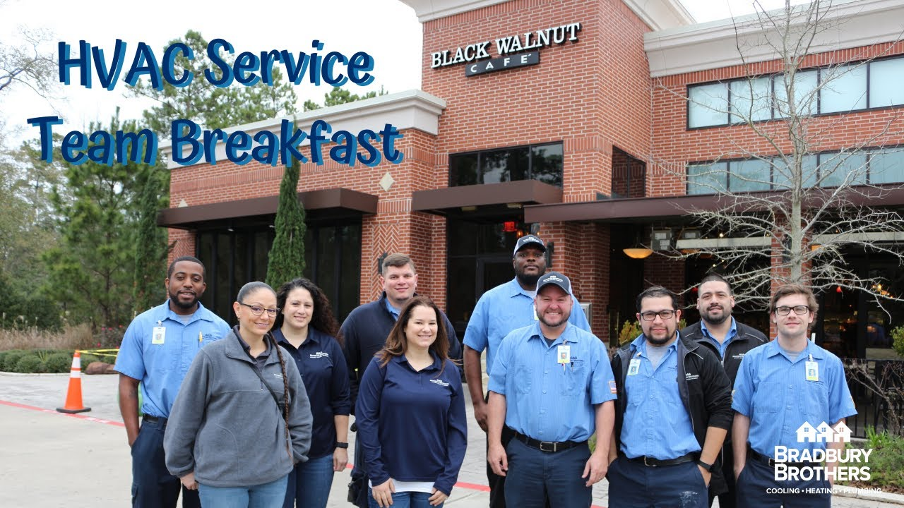 Caring For Our Employees Hvac Service Team Breakfast At The Black