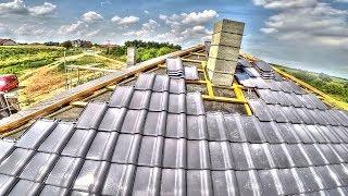 Jak przygotować komin pod struktonit?  S01E60 Budowa domu dzień po dniu.