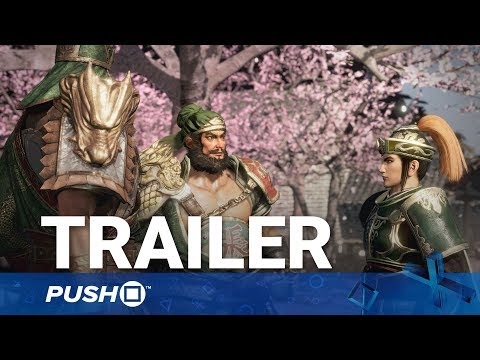 Dynasty Warriors 9 PS4 Action Gameplay Trailer   PlayStation 4   TGS 2017
