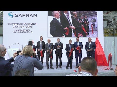 Pologne : inauguration d'une nouvelle usine Safran