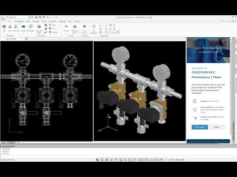 Download DraftSight Free version of the 2D Professional