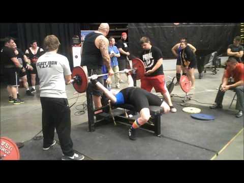 Heather Hale  bench press 176 lbs, deadlift 352 lbs