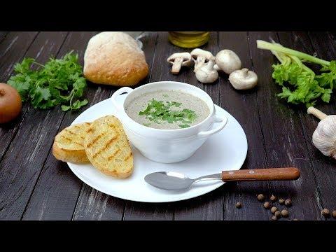 Грибной крем-суп от Джейми Оливера - Рецепты от Со Вкусом
