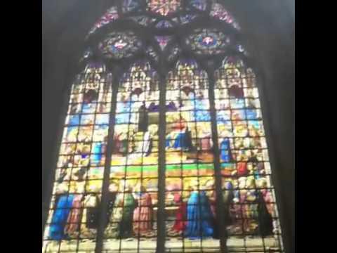 France  -techno dance in the church
