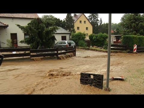 Heftige Unwetter und Überflutungen am 30.05.2018 in Ostsachsen!