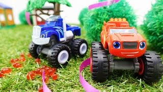 Машинки Вспыш и Крушила - Приключение в лесу - Чудо машинки