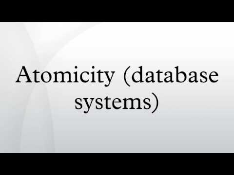Atomicity (database systems)