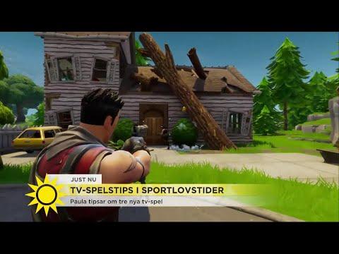 """3 nya tv-spel: """"Vuxna kommer tycka om det – mer än barn"""" - Nyhetsmorgon (TV4)"""