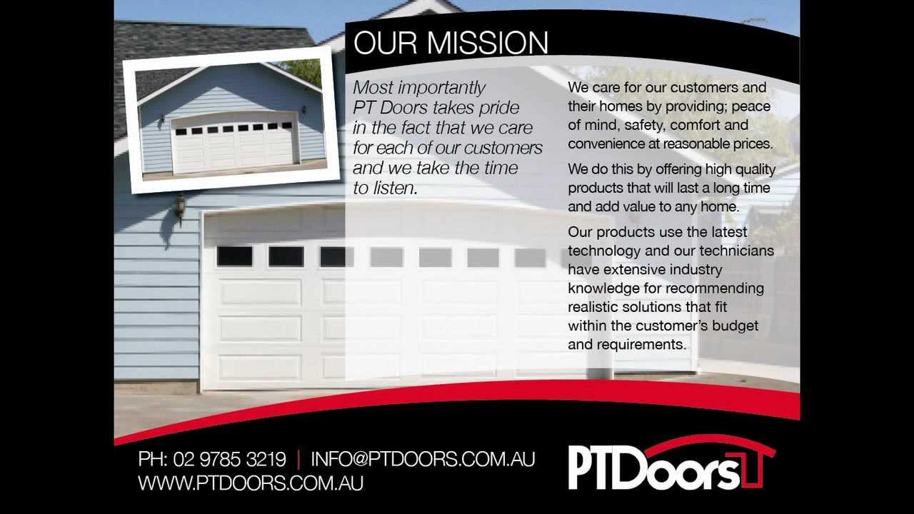 Sydney Garage Doors Supply Installation Repair Automation Pt Doors