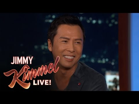 Thumbnail: Donnie Yen Reveals His First Line from Rogue One: A Star Wars Story
