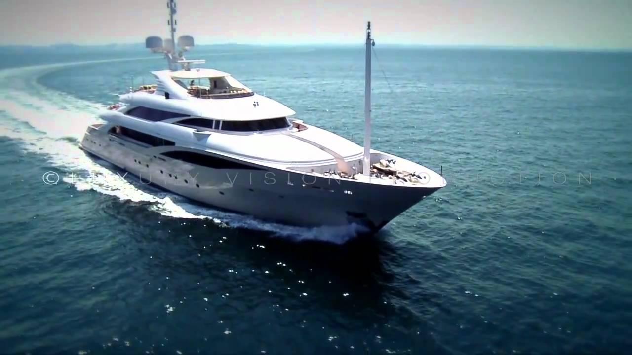 Superyachten innen  Superyacht ISA 63m: EXCLUSIVE VIDEO. - YouTube