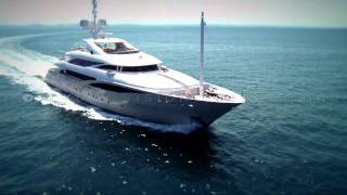 Superyacht ISA 63m: EXCLUSIVE VIDEO.