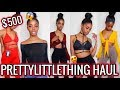 HUGE $500 PRETTYLITTLETHING TRY ON HAUL (Petite/Slim Girls) | Jeseniá Cheveria