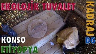 Ekolojik Tuvalet Konso Etiyopya Kadraj DG Dünya Gezegeni