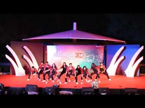 Pakka Local- Marana Mass Thara Local Dance Performance By Infosys Folks