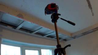 як зробити нішу в стелі з гіпсокартону