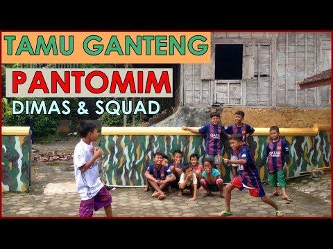 Kedatangan Atlet Bulutangkis Nasional dan Pantomim Dimas Squad (Hajar Pamuji)