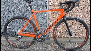 Ghost Nivolet X7 8 LC U Rennrad 2018 Carbon Riot red