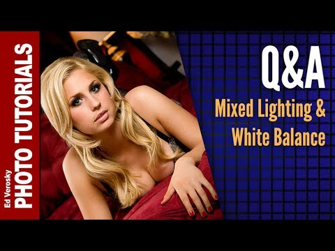 Photography White Balance for Flash and Tungsten Mixed Lighting