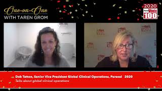 Deb Tatton, Parexel – 2020 PharmaVOICE 100 Celebration