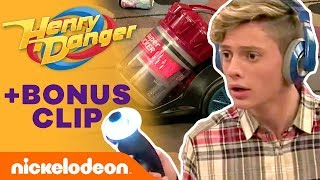 Charlotte Gets Sucked Into a Vacuum⁉️ | Henry Danger | Nick