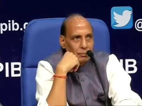 Rajnath Singh FORGET ABOUT TERRORIST
