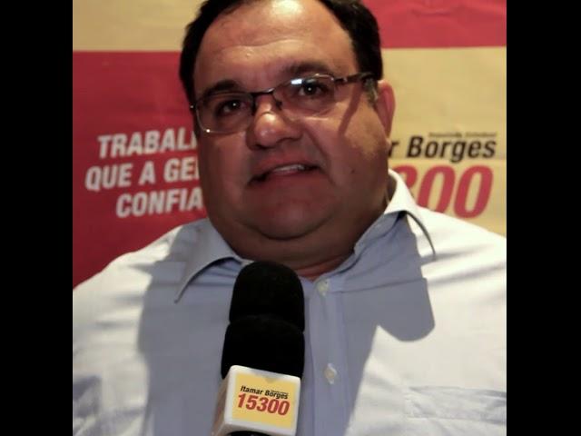 O prefeito Antonio José também faz parte da #família15300