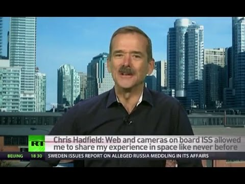 Flying in space shuttle is like being in middle of violent storm – Chris Hadfield