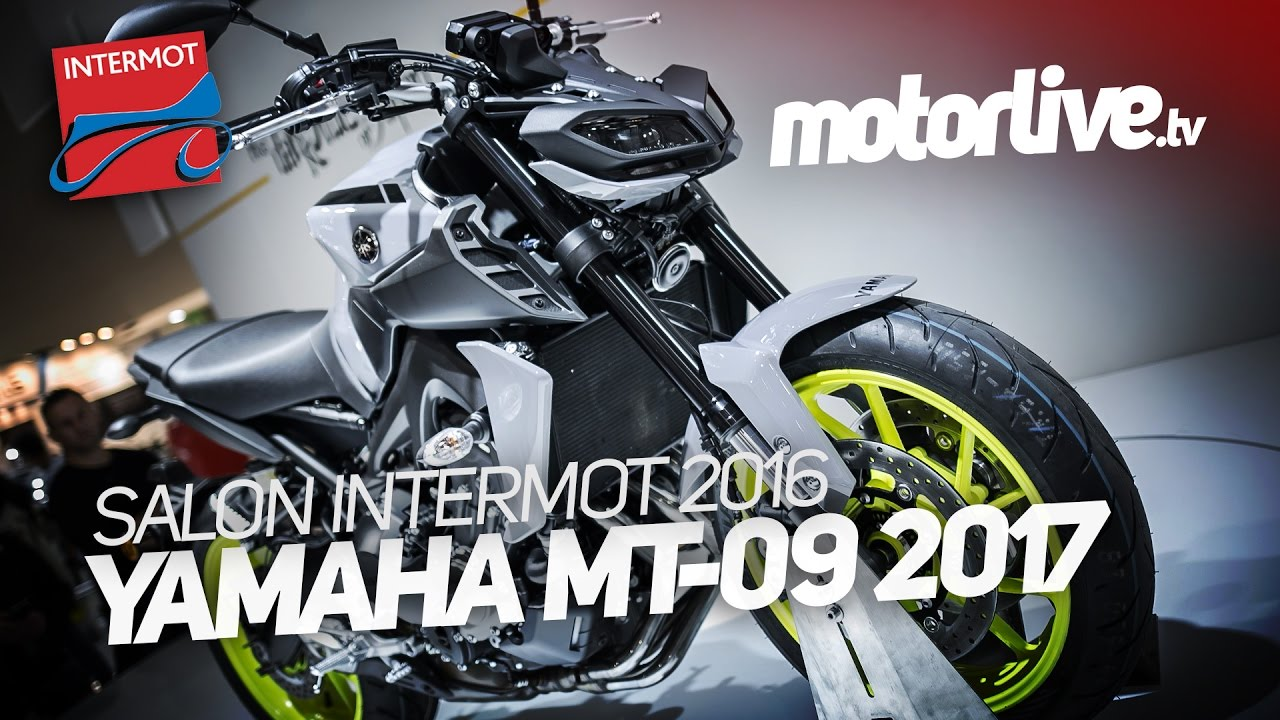 yamaha mt 09 2017 intermot 2016 youtube. Black Bedroom Furniture Sets. Home Design Ideas