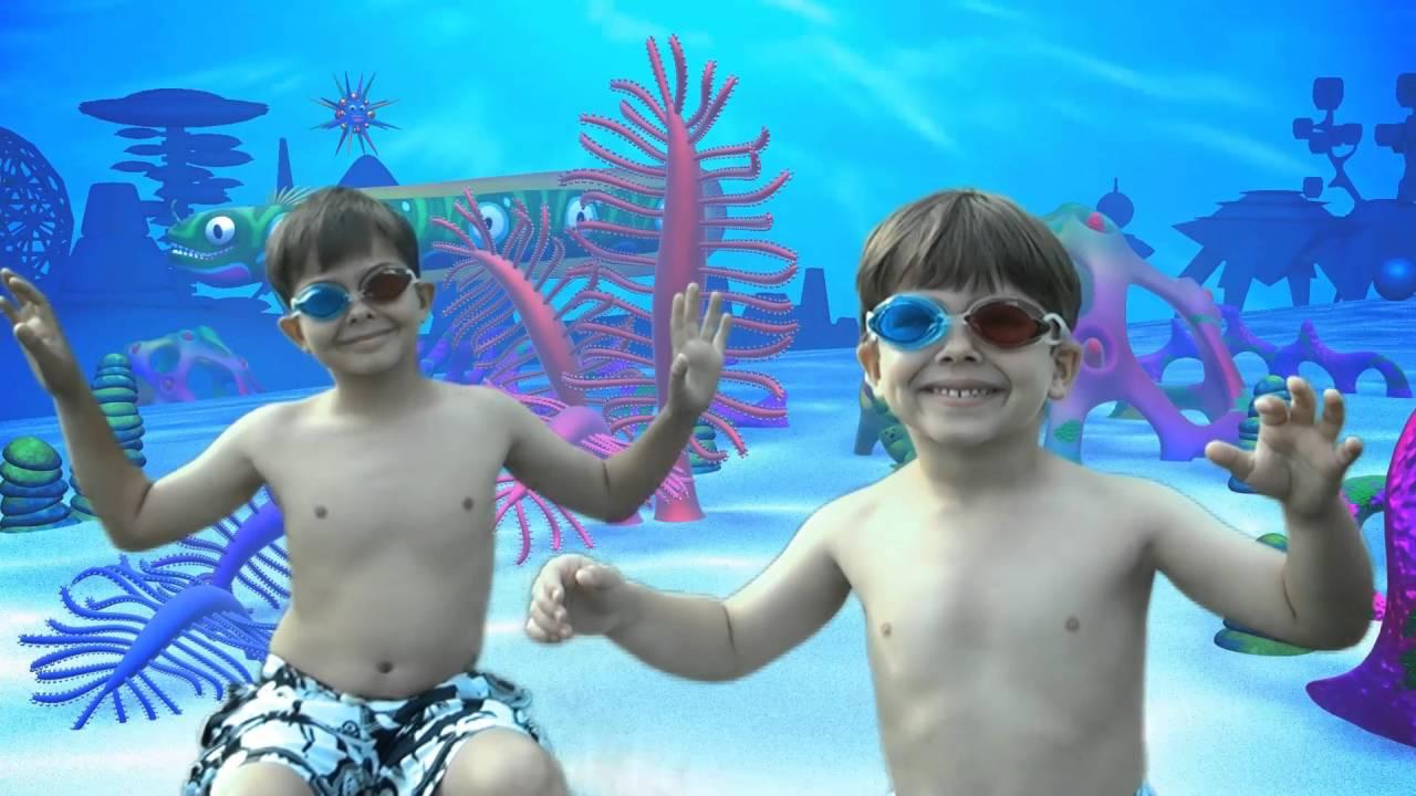 d7bce30a Piscina infantil hinchable Bestway 3D Adventure 54114 - YouTube