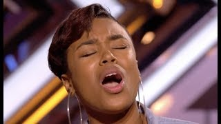 Stunning Deanna Blows Judges Away With Whitney Houston 'I Have Nothing' | The X Factor UK 2017
