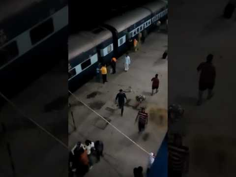 MUGHALSARAI RAILWAY RUSH IN TRAN
