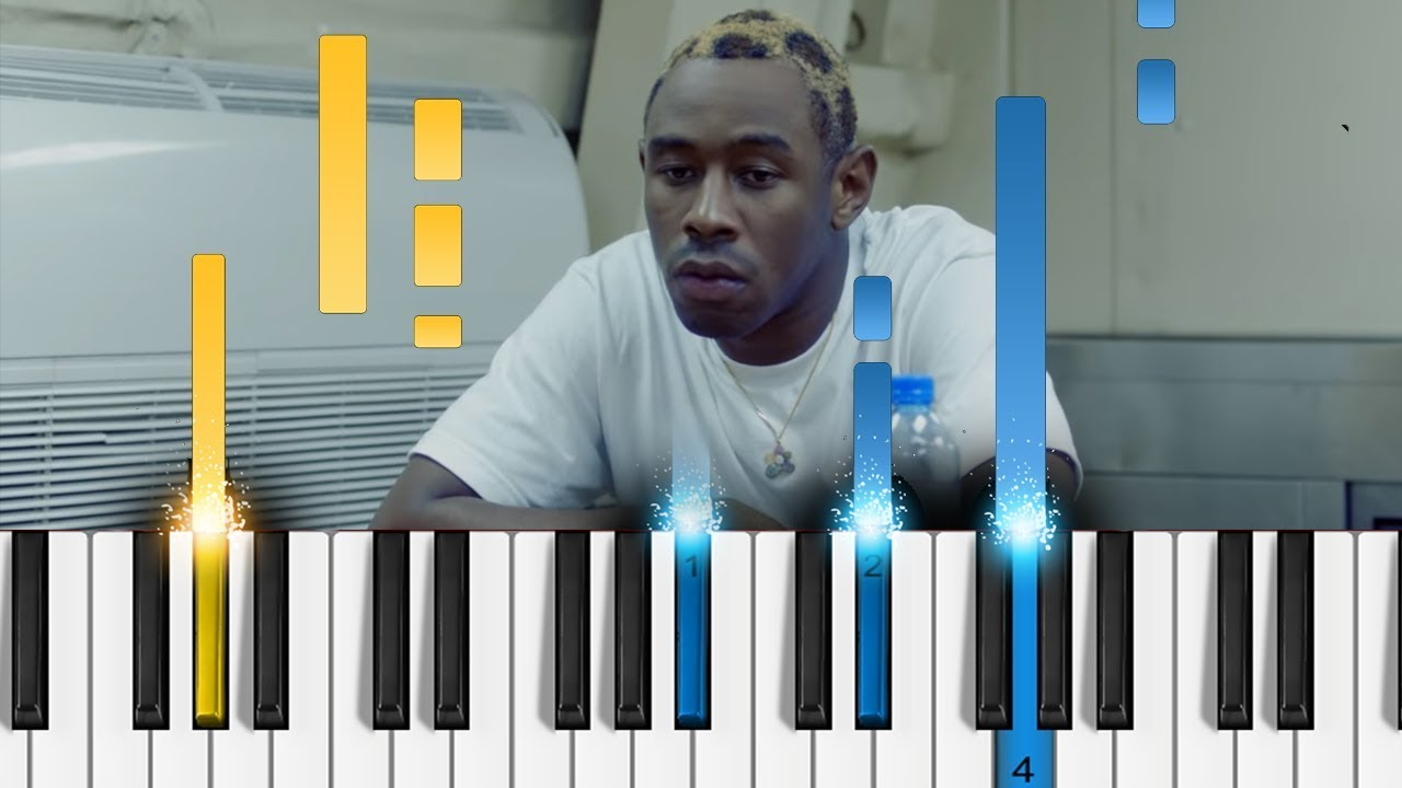 How to play tyler, the creator see you again (piano tutorial.