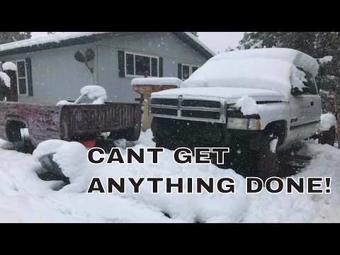 CUMMINS BUILD CON'T - SNOW IN MAY?! A SUDDEN STOP