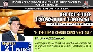 El Precedente Constitucional Vinculante 2017 Video