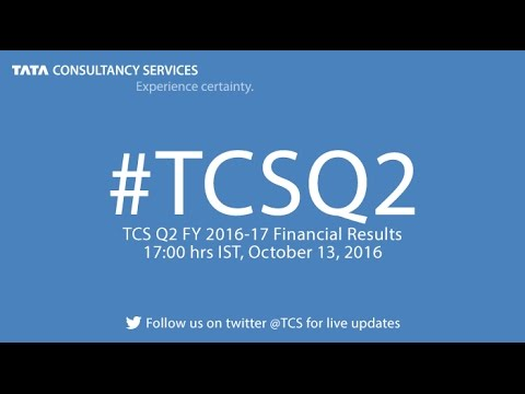 TCS Q2 FY 2016-17 Financial Results