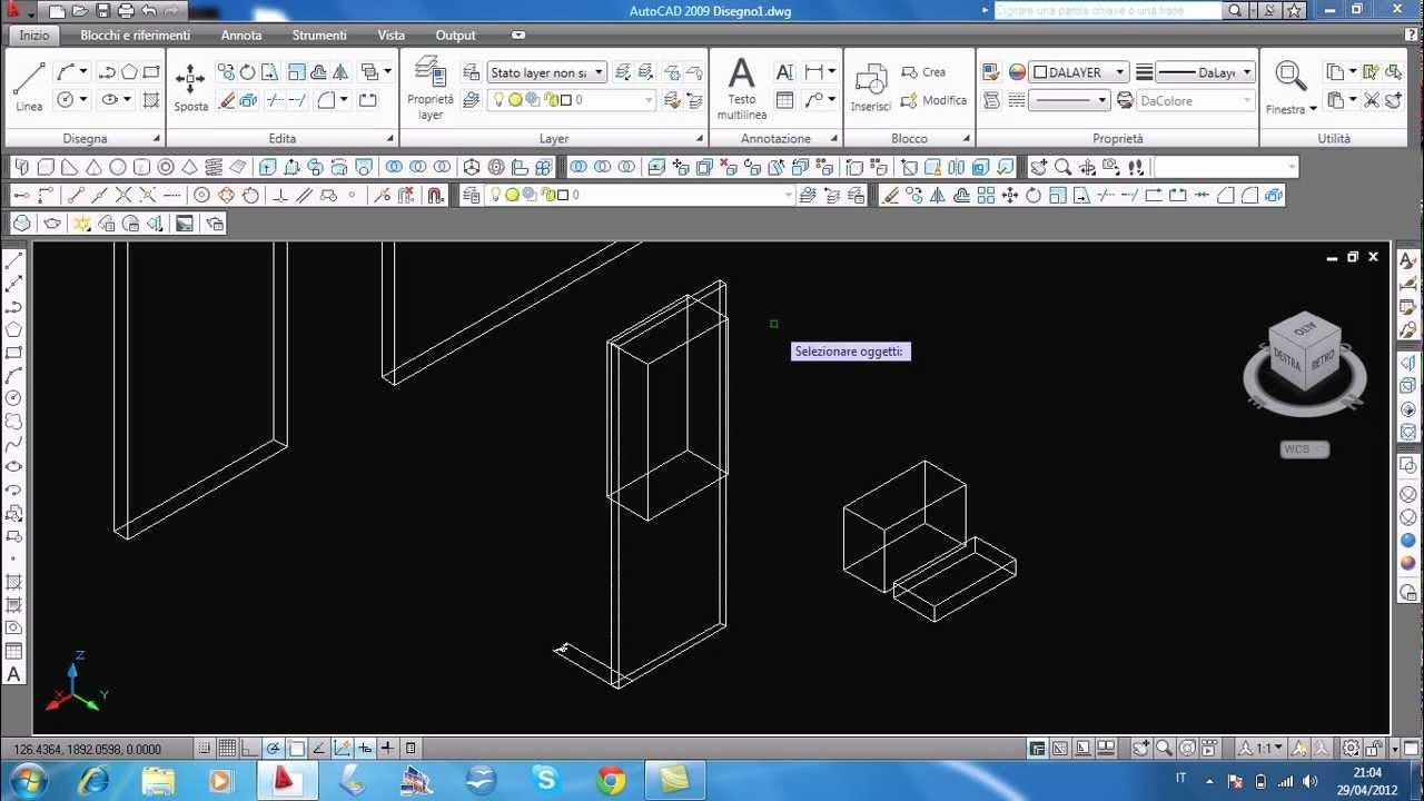 Tutorial come fare una porta su autocad youtube for Disegnare una scala a chiocciola con autocad