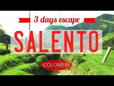 SALENTO COLOMBIA + COCORA VALLEY    COLOMBIA COFFEE REGION - EJE CAFETERO