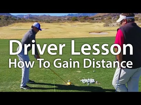 Golf Driver Lesson – How To Gain Distance