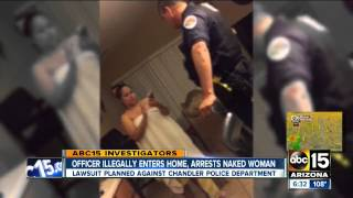 Police Attack Woman Naked, Pepper Spray 4 yr old, Punch 12 yr old