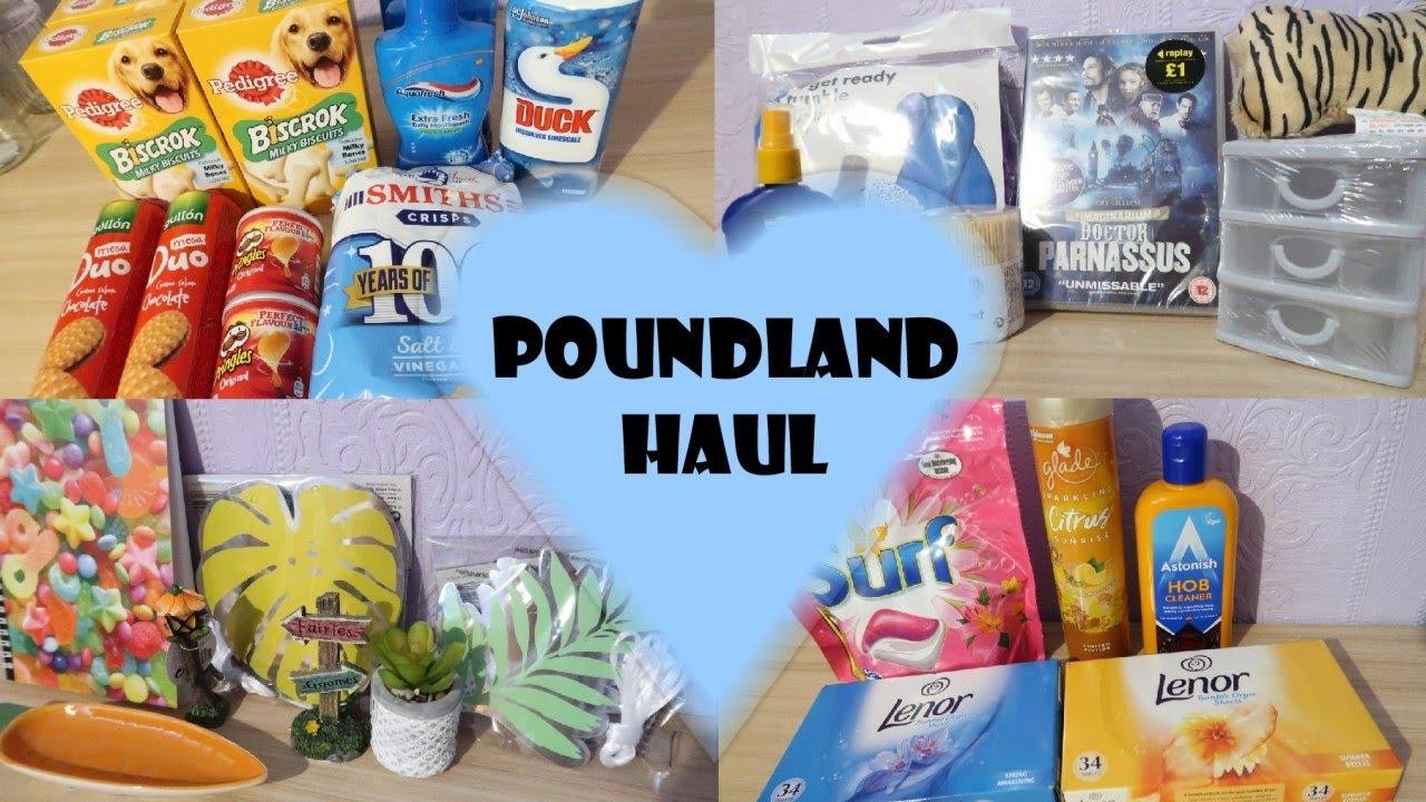 Poundland Haul July 2020 | New Shopping Haul UK | Cleaning, Summer Home Decor & Food Haul