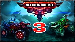 Mad Truck Challenge 3 Full Game Walkthrough (Gold Cup & Star)