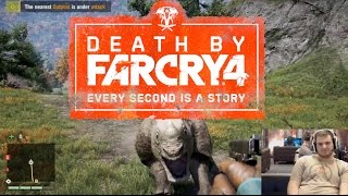 Death By Far Cry 4: Drowning & Fending Off Rhinos!