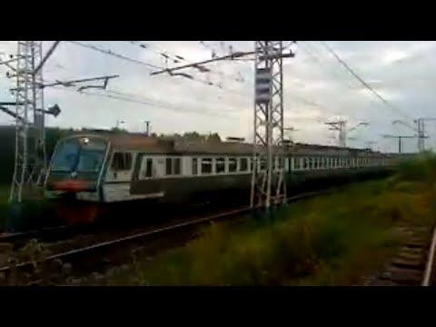 Электропоезд ЭД4М-0276 Самара — Кинель