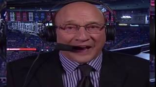 Hockey commentator and his 8 inch shaft