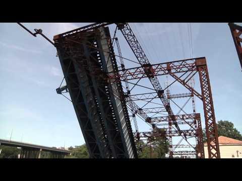 Saugatuck Railroad Bridge Opening 7-3-15