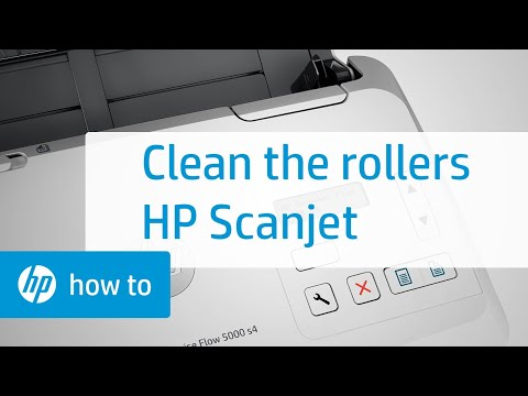 Cleaning the Rollers | HP Scanjet Enterprise Sheet-feed Scanners | HP