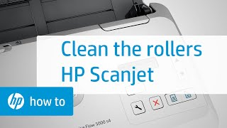 Cleaning the Rollers on HP Scanjet Enterprise Sheet-feed Scanners | HP Printers | HP